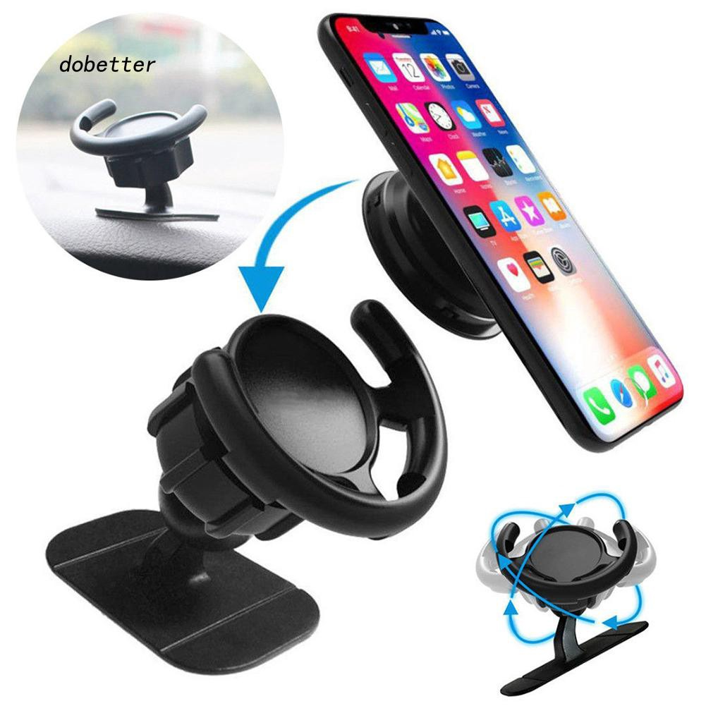 DOBT_Universal Stick Auto Car Dashboard Mount Holder Mobile Phone Grip Stand Bracket