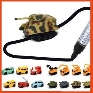 [KA] Bộ đồ chơi xe tăng cảm ứng theo nét vẽ độc đáo – Tặng kèm 4 pin