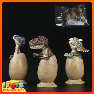 Trứng khủng long nở, trứng khủng long mô hình đồ chơi cho trẻ em