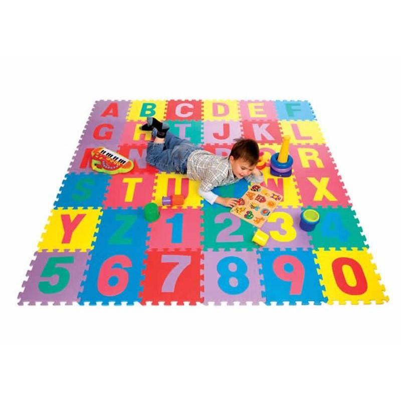 Bộ 26 Tấm Thảm Xốp Lót Sàn Cho Bé Yêu Chơi Đùa Mới Nhất