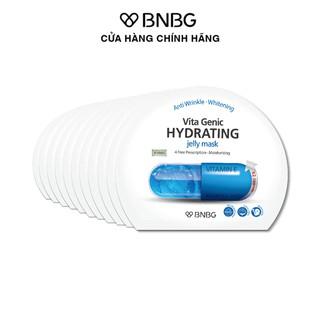 Combo 10 mặt nạ dưỡng ẩm cho da BNBG Hydrating Vita Genic Jelly Mask 30mlx10