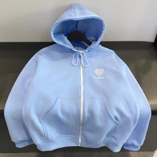 Áo khoác hoodie tim gạch thumbnail