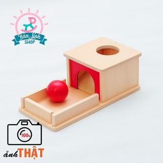 Hộp thả bóng không ngăn kéo – BẢN ĐẸP, CHUẨN Montessori| Đồ chơi cho trẻ sơ sinh