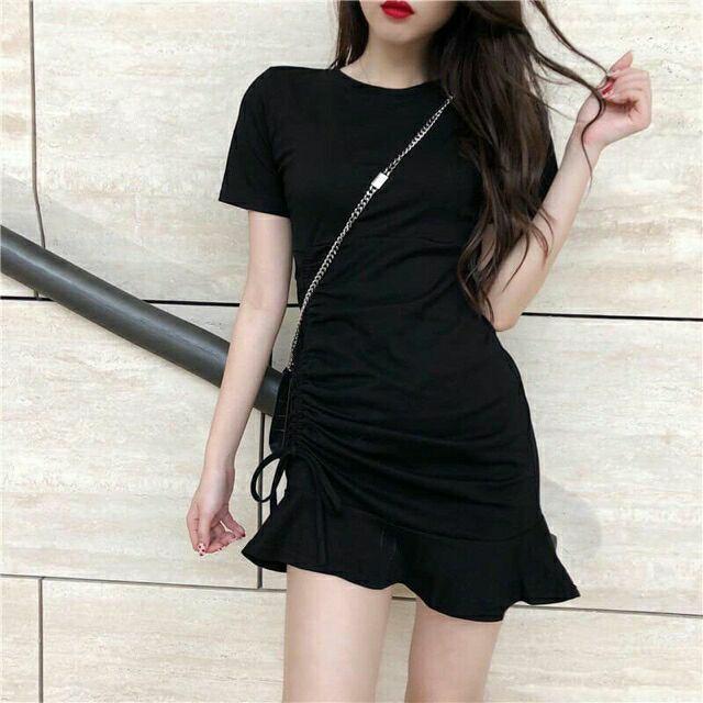 Váy Đầm ❄ FREESHIP ❄ Đầm nữ đuôi cá rút dây siêu xinh thời trang XIXO mã DAM0006