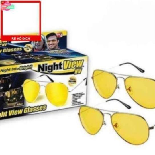 [Siêu rẻ] Mắt kính nhìn xuyên đêm Night View ko hộp