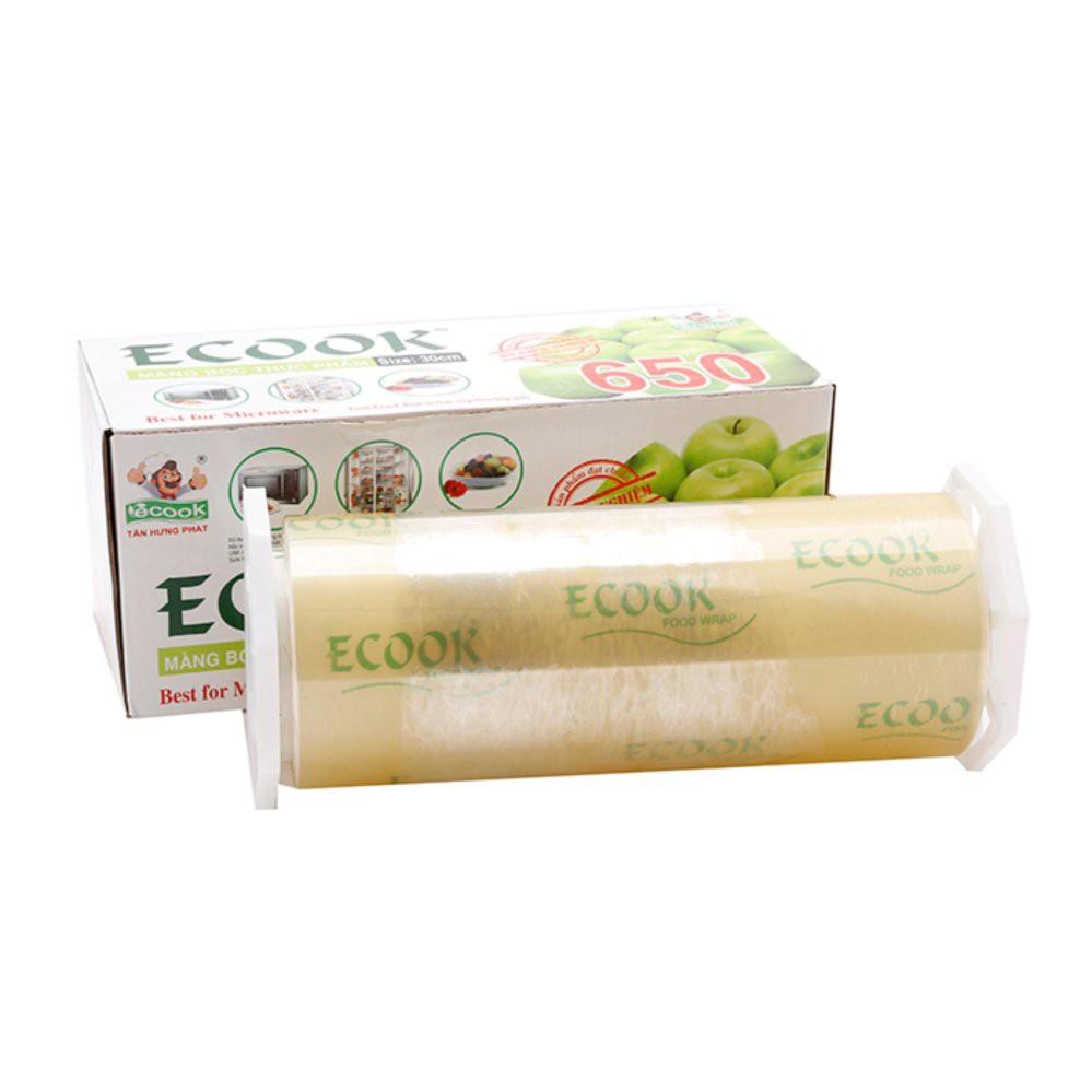 Bộ 2 cuộn màng bọc thực phẩm Ecook P650 30cm x 500m THPP650C2