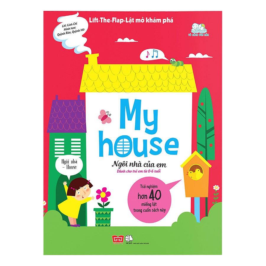 Sách - Lift - The - Flap - Lật Mở Khám Phá - My House - Ngôi Nhà Của Em - 3377372 , 1225142051 , 322_1225142051 , 168000 , Sach-Lift-The-Flap-Lat-Mo-Kham-Pha-My-House-Ngoi-Nha-Cua-Em-322_1225142051 , shopee.vn , Sách - Lift - The - Flap - Lật Mở Khám Phá - My House - Ngôi Nhà Của Em