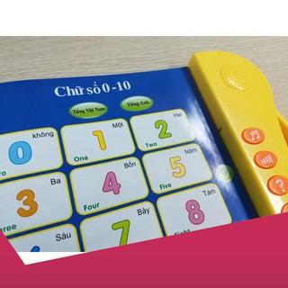 [Giảm 9k cho đơn từ 99k]Sách song ngữ Việt – Anh cảm ứng giúp cho bé phát triển sớm .