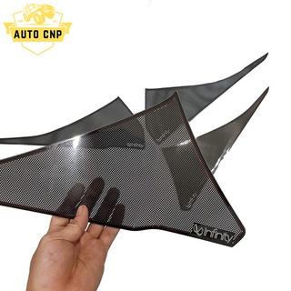 Ốp màng loa cho xe HYUNDAI SANTAFE chất liệu thép mạ TITAN, bảo vệ khu vực loa sạch sẽ không bụi bặm AUTO CNP thumbnail