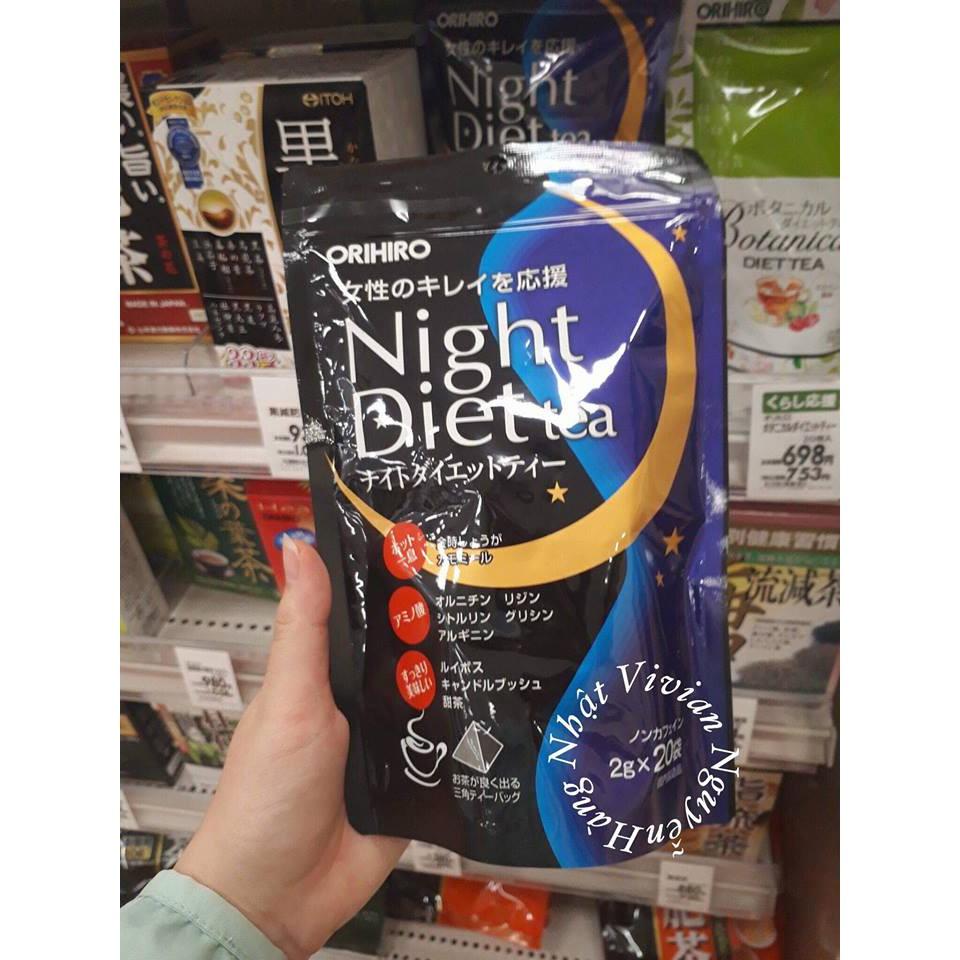 Trà Giảm Cân Orihiro Night Diet Tea - 3375777 , 1308597830 , 322_1308597830 , 250000 , Tra-Giam-Can-Orihiro-Night-Diet-Tea-322_1308597830 , shopee.vn , Trà Giảm Cân Orihiro Night Diet Tea