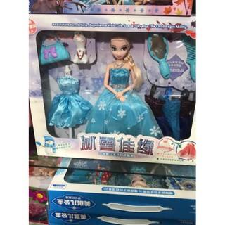 [ ĐỒ CHƠI ] Búp bê Elsa kèm phụ kiện