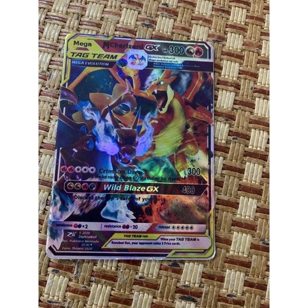 Bài Pokemon TagTeam Mega Charizard GX