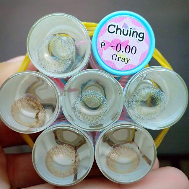 Contact lens /Kính áp tròng - GRAY tặng kèm khây dụ