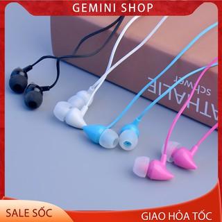 Tai Nghe Có Dây 3.5mm QR1 nhét tai in ear có mic Cho điện thoại giá rẻ GEMINI SHOP
