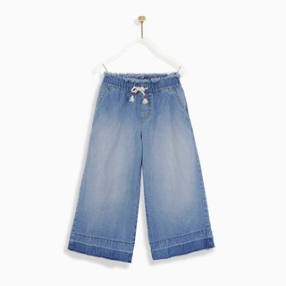 [Mã KIDMALL15 hoàn 15% xu đơn 150K] Quần bé gái Pull-on culottes jeans M.D.K