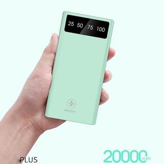 Pin sạc dự phòng 20000mAh IBESKY BX2 chính hãng ( 3 cổng USB ) + Tặng 1 đèn led usb thumbnail