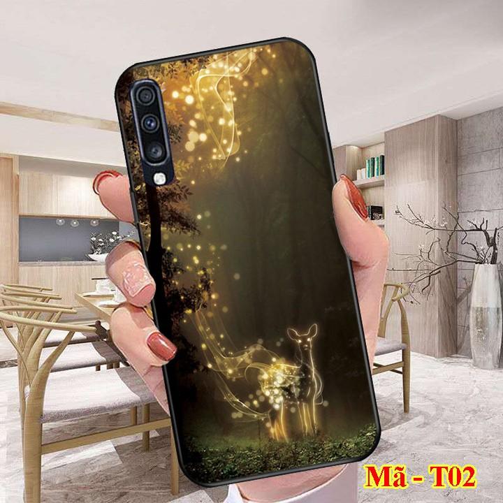 Ốp lưng SAMSUNG mặt kính 3D thế hệ mới dành cho điện thoại samsung A10s, A20, A30, A50, A51, A70, J7+, J7 Prime