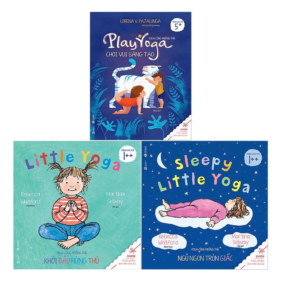 Sách - Bộ Ehon - Yoga Cùng Muông Thú (3 Cuốn)