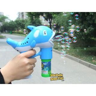 súng bắn bong bóng nước hình cá