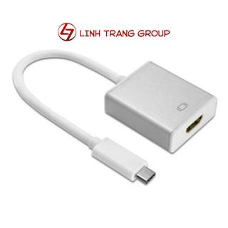Cáp chuyển USB type-C ra HDMI vỏ nhôm cao cấp hỗ trợ 4K - PK30