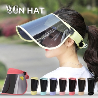 WPGY Adjustable UV Protection Sun Windproof Dust Hat Sun Visor Hat Cap UV Protection For Outdoor