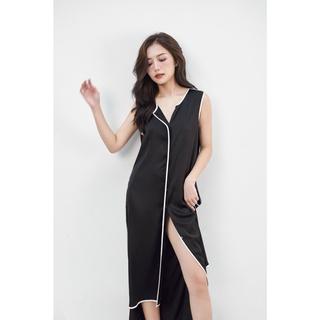 Áo choàng ngủ cộc tay nOor vải lụa cao cấp, kiểu dáng thoáng mát, sexy NA529 thumbnail