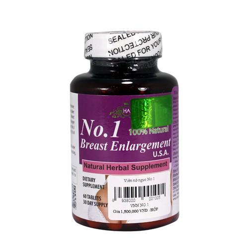 Viên hỗ trợ Nở Ngực No. 1 Breast Enlargement USA (dạng viên uống) - 15130737 , 983519089 , 322_983519089 , 1000000 , Vien-ho-tro-No-Nguc-No.-1-Breast-Enlargement-USA-dang-vien-uong-322_983519089 , shopee.vn , Viên hỗ trợ Nở Ngực No. 1 Breast Enlargement USA (dạng viên uống)