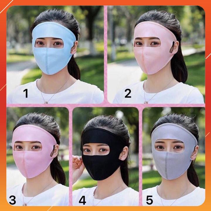 Khẩu Trang Ninja Chống Tia UV Siêu Hot