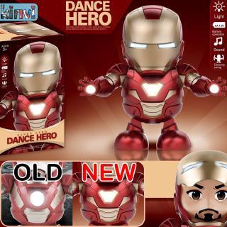Iron Man Toys Revenge League of Legends Dancing Iron Man Robot Light Music Electric kids Toys