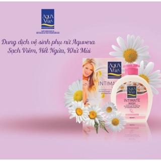 Dung dịch vệ sinh phụ nữ Aquavera Intimate Wash 250ml - Hàng Thổ Nhĩ Kỳ thumbnail