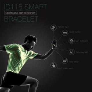 Bộ vòng tay thông minh ID115 kết nối Bluetooth theo dõi sức khỏe