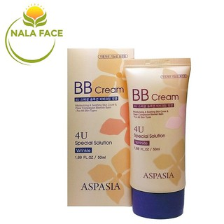 Kem nền chống nhăn Aspasia BB Cream 4U Special Solution Wrinkle thumbnail