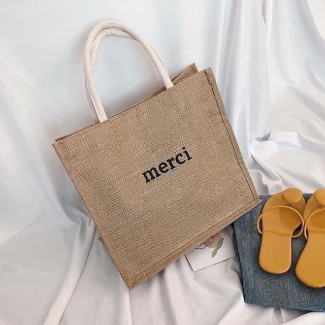 [ Thời trang] Túi merci và túi someday( thích hợp đi chơi, đi biển, đi chợ....)
