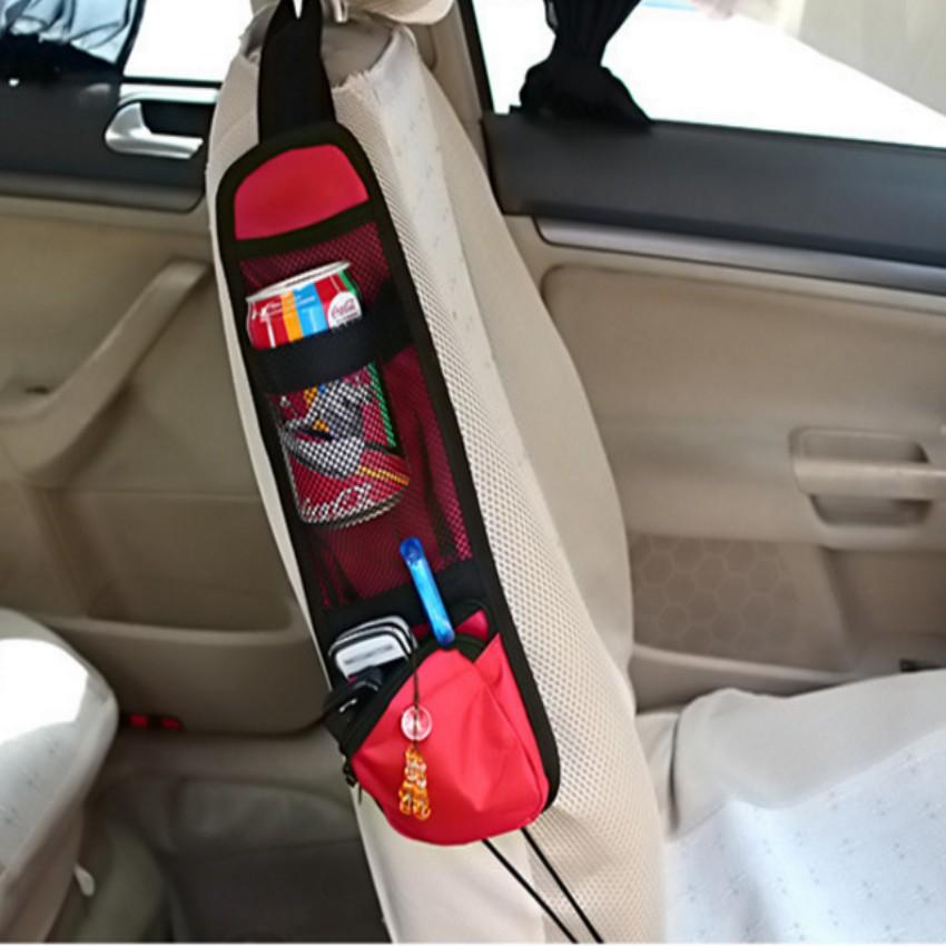 Túi treo ghế ô tô đựng đồ tiện ích TL 142 2 (đỏ)