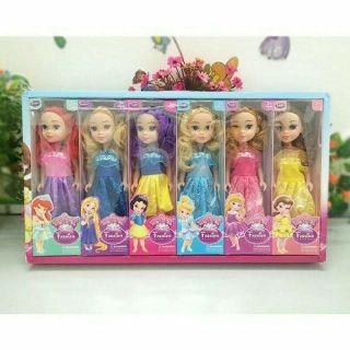 Bộ sưu tập 6 búp bê công chúa