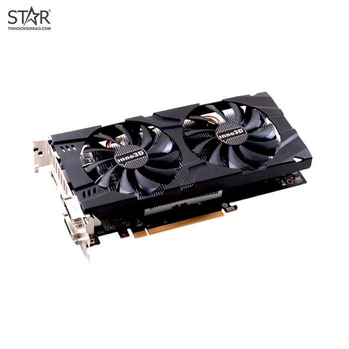 VGA INNO3D GTX1060 3G D5 2 Fan Cũ