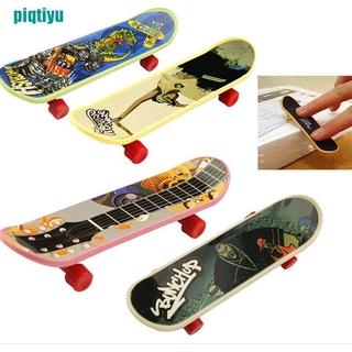 ❉1X Mini Finger Board Skateboard Novelty Kids Boys Girls Toy Gift for Party 3.7″