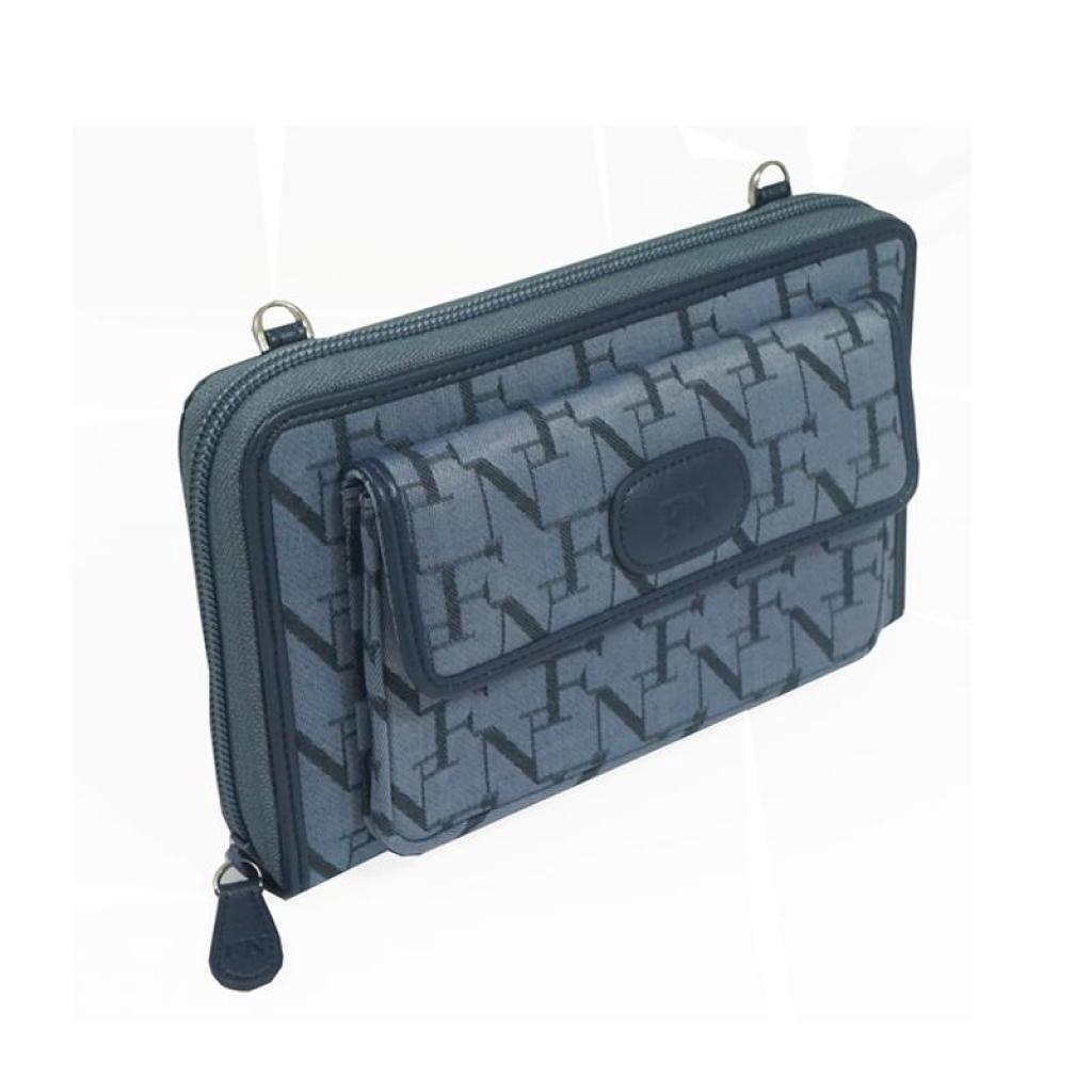 Business bag Crossbody bag FN BAG กระเป๋าคลัทช์ Clutches 1208-24006-088 Col.Light Navyusiness bag Crossbody bag FN BAG ก
