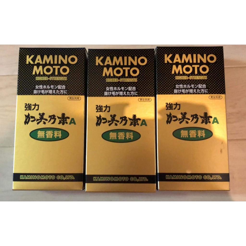 Đủ bill Dầu mọc tóc liều mạnh Kaminomoto Higher Strength