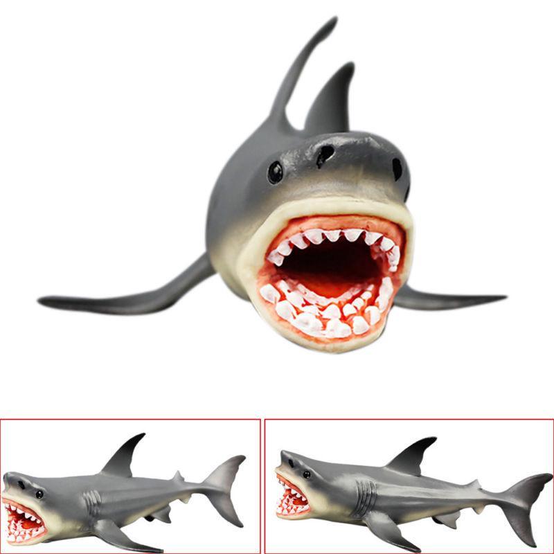 Kids Prehistoric Shark Ocean Education Animal Figure Model Child Toy Xmas Gift