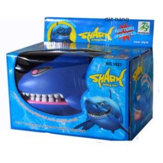 Đồ chơi khám răng cá mập có đèn và âm thanh
