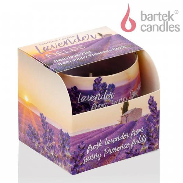 Ly nến thơm Bartek Candles BAT6533 Lavender Fields 100g (Hương oải hương)