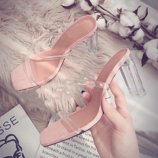 Sandal guốc cao gót nữ cao cấp siêu xinh cao 9p bán giá xưởng - s50