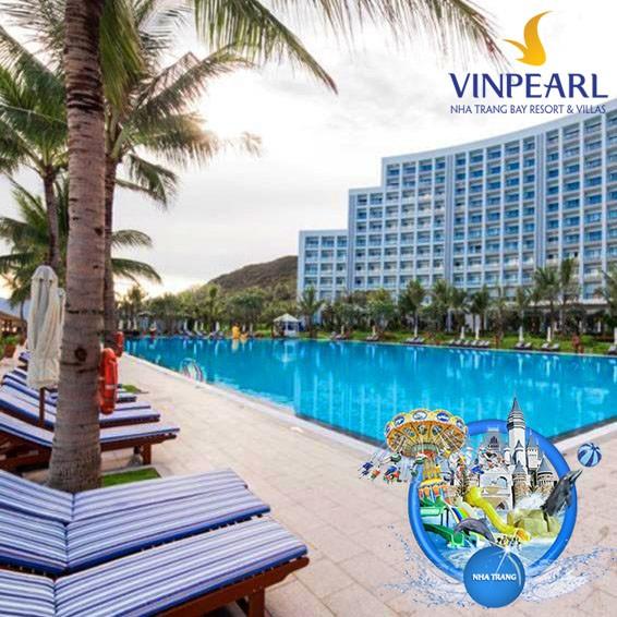 Voucher 2N1D phòng Deluxe trọn gói tại Vinpearl Nha Trang Bay Resort & Villas 5*