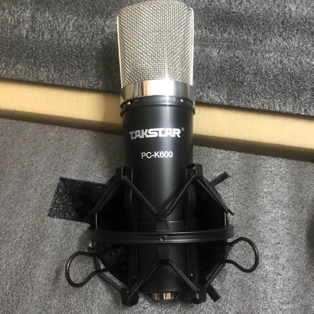 Mic thu âm Takstar PC-K600 - 2398750 , 1198609775 , 322_1198609775 , 1600000 , Mic-thu-am-Takstar-PC-K600-322_1198609775 , shopee.vn , Mic thu âm Takstar PC-K600