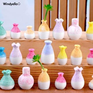 Bình hoa nhựa mini trang trí