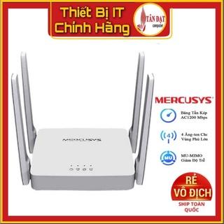 (Siêu Rẻ) Bộ Phát Wifi Mercusys AC10 Phát Wifi Băng Tần Kép Chuẩn AC1200 -Hàng Mới Năm 2021 thumbnail