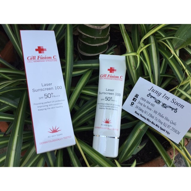 ☀️☀️Kem chống nắng Cell Fusion C Laser Sunscreen 100 SPF50+/PA+++