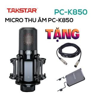 【Chính hãng】Mic thu âm chuyên nghiệp cao cấp Takstar PC-K850 hát karaoke, livestream, bán hàng