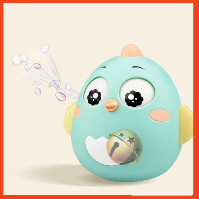 Đồ chơi con lật đật trẻ em sơ sinh 3-12 tháng hình gà giá sỉ